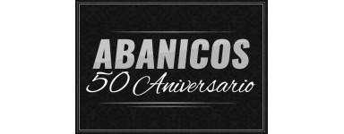 Abanicos personalizados 50 aniversario