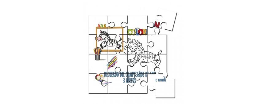 Puzzles para pintar