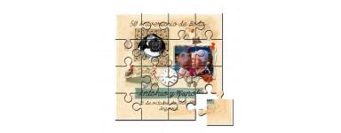 Aniversario en puzzle