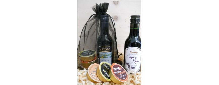 Pack de vino con Gourmet