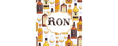 Botellines miniaturas Ron