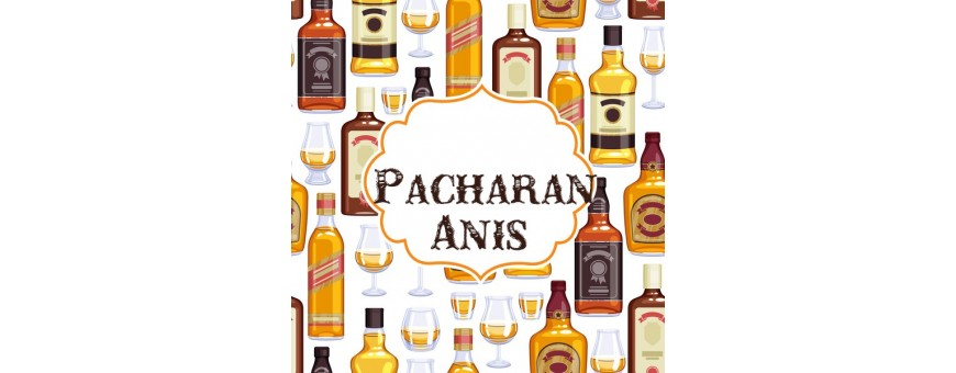 Botellines miniaturas Pacharan y Anises