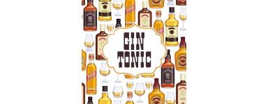 Botellines miniaturas Gin Tonic