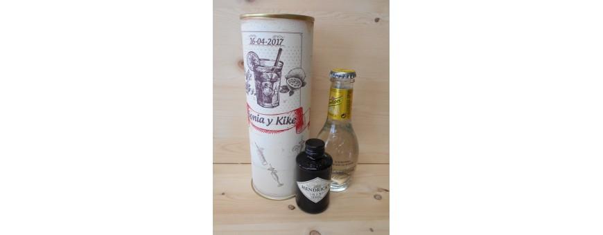 Botellines miniaturas Gin Tonic en lata