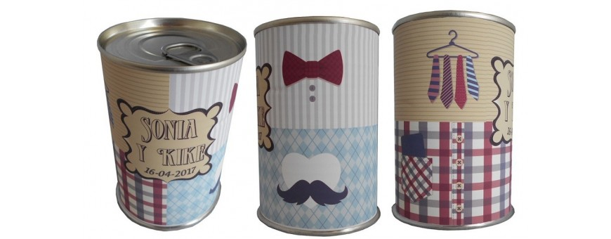 Modelo de latas