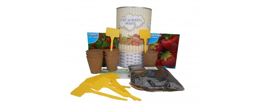 Kit de huerto en lata gigante