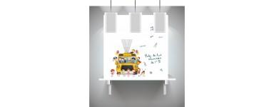 Lienzo de huellas de profesores